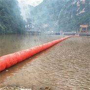 水上浮筒拦污删 水电站浮箱拦污漂排厂家