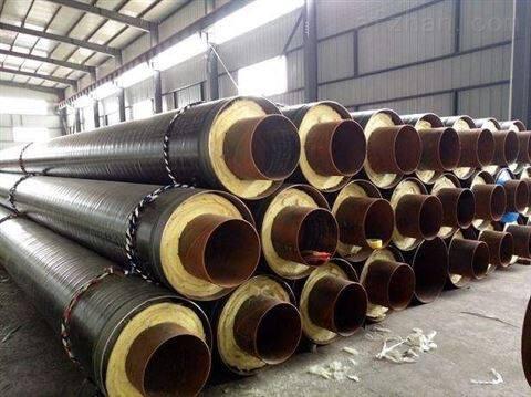 小区改造管道工程直埋保温管发泡保温钢管
