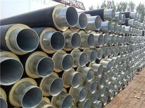聚氨酯预制直埋保温管直埋发泡管北京供货商