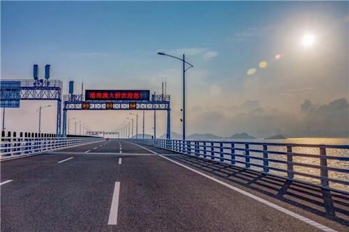 """科拓元素闪耀港珠澳大桥 智慧停车为""""超级工程""""加码"""