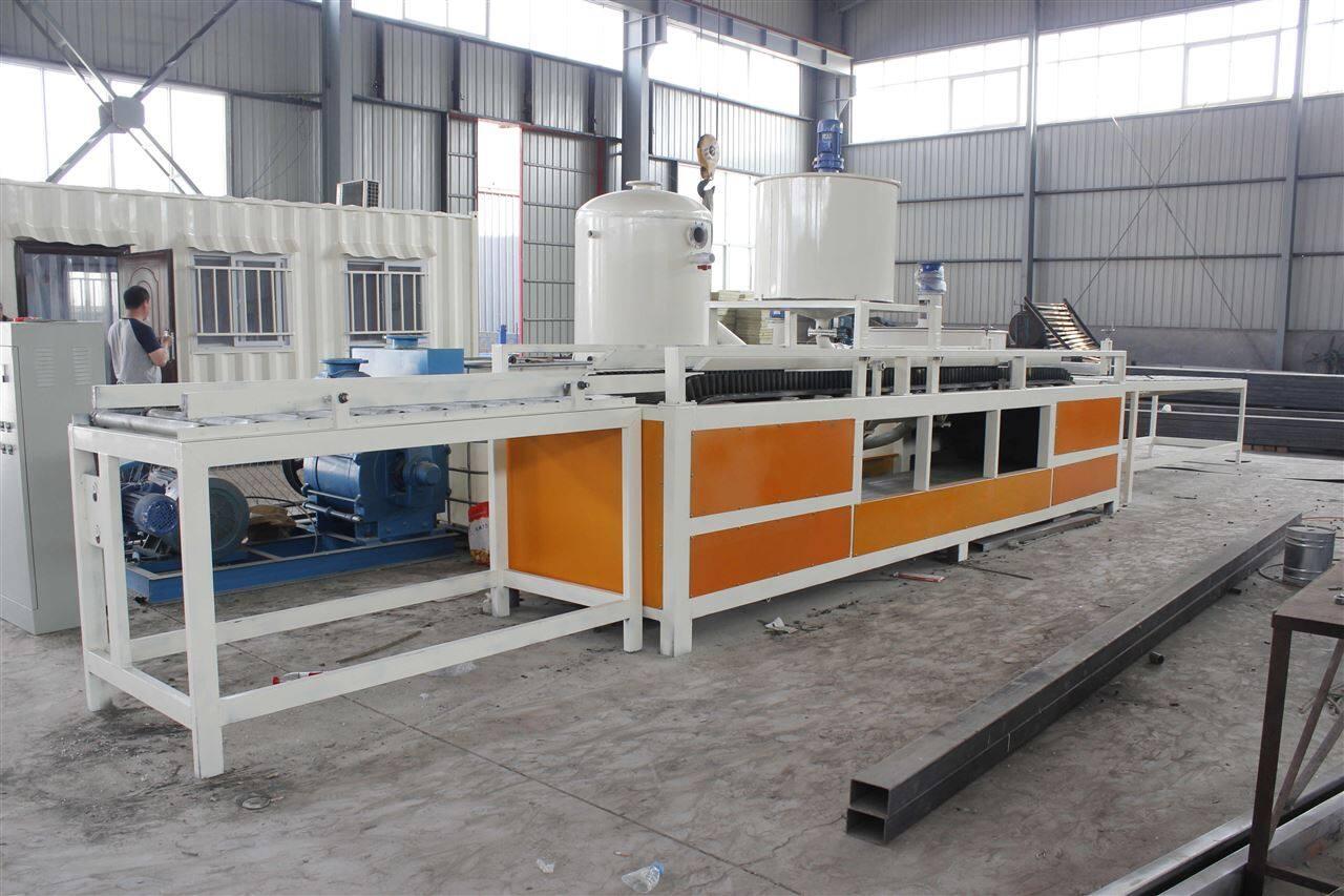 硅质板机器硅脂聚苯板安设备美工 16型 大城县美工机械设备厂