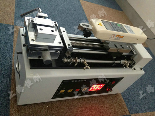 电动卧式推拉力计测试台