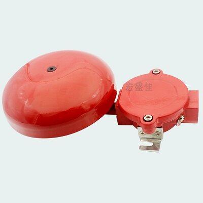 火灾报警控制器送来的控制信号启动报警电路,发出声报警信号,完成报警