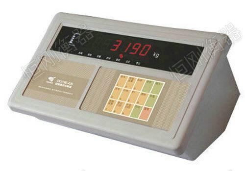 条形电子地磅选用仪表
