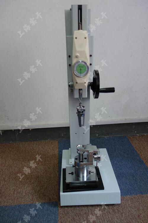 测量服装拉链的拉力测试仪图片