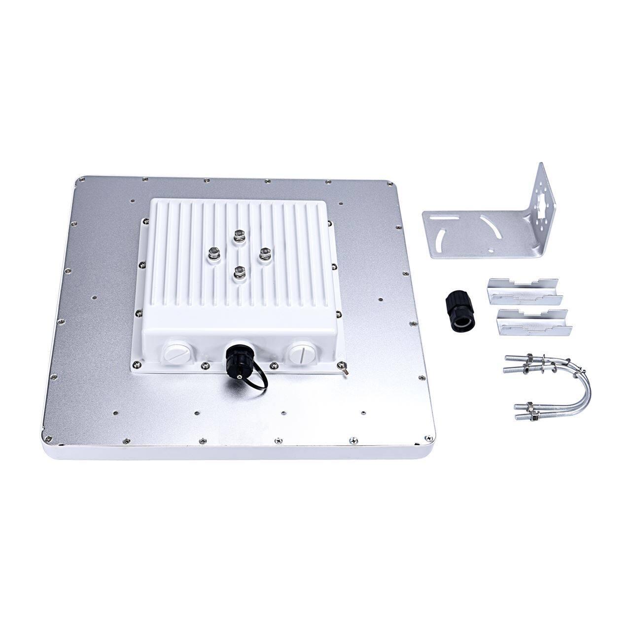 4G无线图传设备与无线网桥组合使用