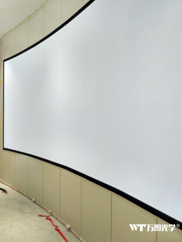 投影仪硬屏幕生产厂家直销玻璃钢硬幕