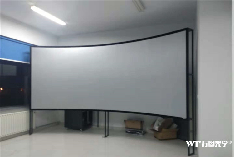 多通道弧幕投影系统